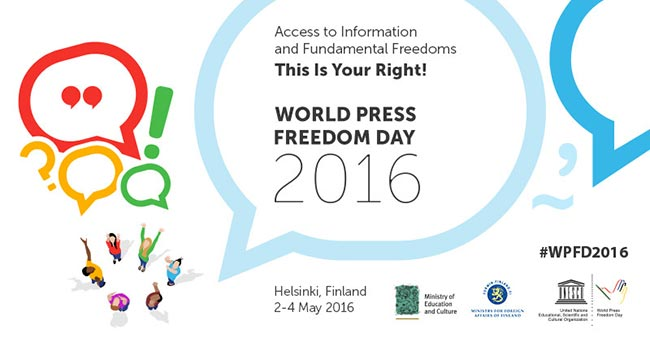 World Press Freedom Day 2016 UNESCO